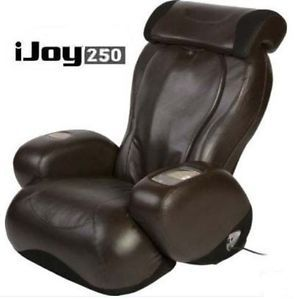 Human Touch iJoy 250 Massage Chair Recliner Espresso Color Quad Roller