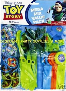 Disney Toy Story 48pc Mega Party Favors Pack Party Supplies