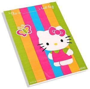 Hello Kitty Birthday Party Supplies Loot Bags