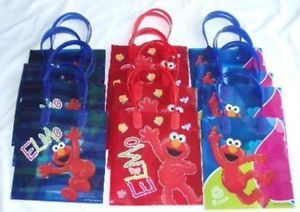 12 Pcs Sesame Street Elmo Goody Gift Bag Birthday Party Favor Supply Wholesale