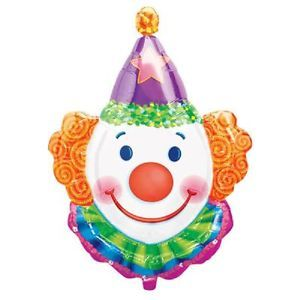 Jumbo Clown Balloon Birthday Party Supplies Decorations Circus Tent Boys Girls