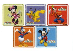 10 Mickey Mouse Clubhouse Glitter Stickers Birthday Party Goody Bag Favor Supply