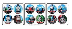 48 Thomas The Tank Engine Train Dot Stickers Party Goody Loot Bag Favor Supply