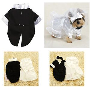 New Party Wedding Pet Dog Clothes Summer Pet Clothing Dress Elegent XS s M L XL