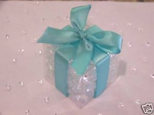 100 Clear Favor Boxes Wedding Party Supplies 2x2x2 Box