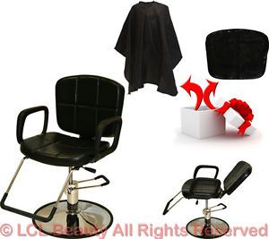 Recline All Purpose Hydraulic Styling Barber Chair Shampoo Hair Salon Equipment