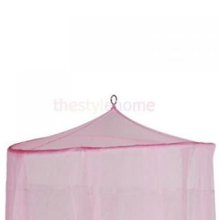 Princess Girls Baby Pink Bed Crib Tent Canopy Mosquito Net