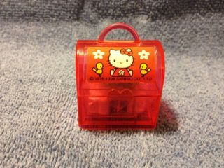 Hello Kitty Mini Lunchbox with Erasers