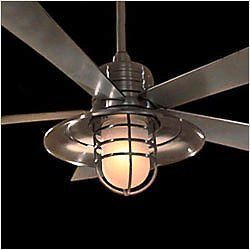 "New 54"" Nautical Indoor Outdoor Ceiling Fan Control"