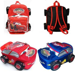 Disney Pixar Car McQueen Backpack Shoulder School Bag Baby Kids Toddler Boy Girl