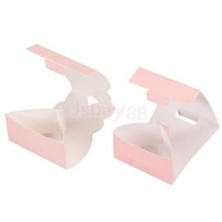 Lot 20pair Bride Gown Groom Tuxedo Wedding Favors Candy Gift Boxes Ivory Board