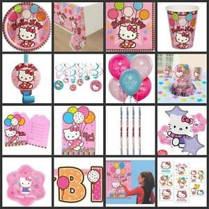 Hello Kitty Birthday Party Supplies You Pick Choose Your Own Set Kit