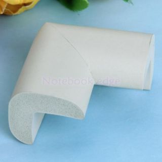 5X Grey Baby Kid Safety Desk Shelf Edge Protector Table Corner Cushion Protector