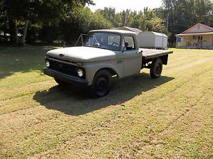 1966 Ford F 250 Flatbed Army Truck