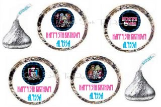 96 Monster High Goul Girls Kids Birthday Party Kiss Favors
