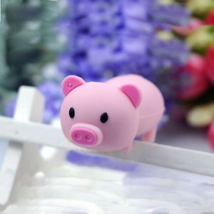 Creative 16BG Cute Pink Pig USB Memory Flash Drive Stick U Disk Storage Device