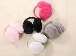Fashion Girls Soft Plush Fluffy Fur Ear Muffs Earmuffs Warmers Winter