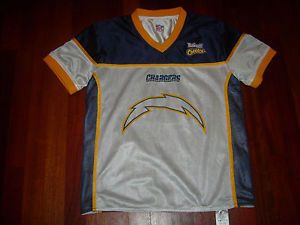 San Diego Chargers NFL Flag Football Reversible Jersey Adult Small