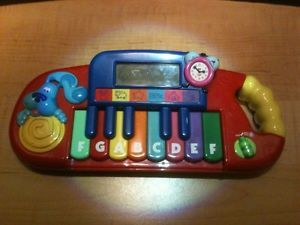 Blues Clues Play Learn Interactive Keyboard Toy Piano Educational Toy