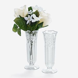 Plastic Bud Vases Lot of 12 Vases Wedding 3 1473