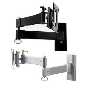 Full Motion Flat LCD LED Panel TV Monitor Tilt Swivel Extend Arm Wall Mount M73