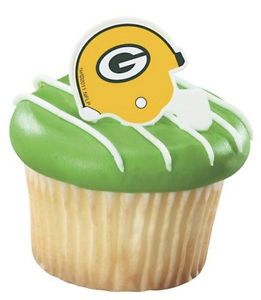 NFL Green Bay Packers Cupcake Ring Birthday Party Cake Decorating Football 12