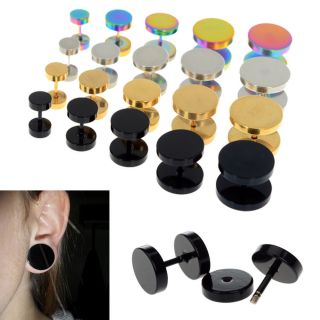 Wholesale Mix Style Acrylic Ear Plugs expender Kit Stretcher Gauge Body Piercing