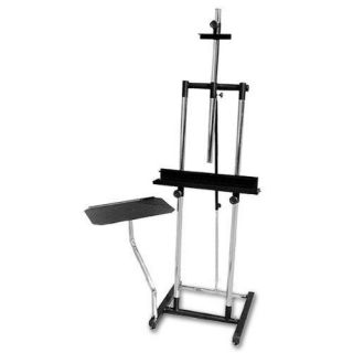 Double Post Steel Artist Easel with Side Tray Studio Home Display School