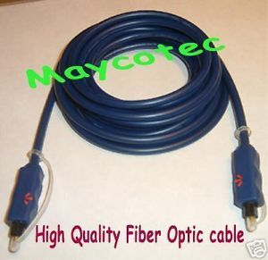 3 ft 1M Fiber Optic Optical SPDIF Toslink Digital Cable