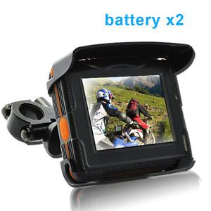 Peaklife Portable 3 5 inch Touch Screen Motorcycle Bike Car GPS Navigator System
