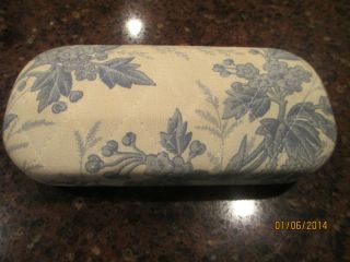 Vera Bradley Retired Vintage Hinged Hard Side Sunglass Glass Case EVC