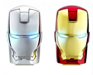 New Ironman Model USB Memory Flash Stick Thumb Pen Drive 4GB 8GB 16GB 32GB Golde