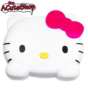 Hello Kitty Head Shape Auto Car Back Seat Drink Food Holder Organizer Sanrio