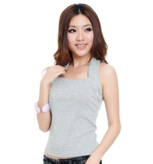 2012 Sexy Tops Women Cotton Halter Vests Tank Tops Cami Strapless T Shirts
