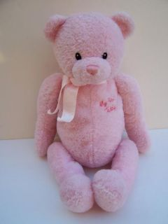 "Baby Gund Large 19"" Pink My First Teddybear 5836"