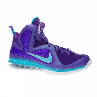 Nike Lebron 9 US Size Purple Trainers Shoes Mens Basket New