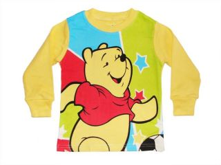 Cute Winnie The Pooh Toddlers Boys Girls Clothes Kids Sleepwear Pajamas Set 4T