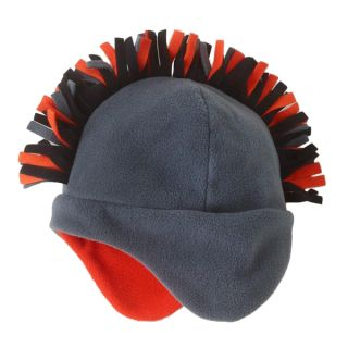 Baby Kid Boys Mohawk Pro Fleece Trapper Hat Cap Toddler Winter Warm Cap
