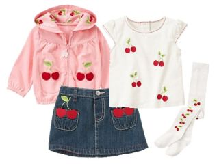 New Gymboree Cherry Cute Baby Girls 3 6 Months Outfit Fall Winter Clothing Lot