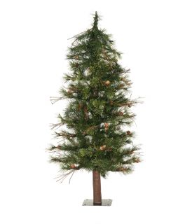 3' Mixed Country Pine Alpine Artificial Christmas Tree Unlit