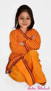 2 Years Indian Rajasthani Kid's Boys Dhoti Kurta Dress Kids Girls Party Clothing
