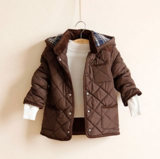 New Children Clothes Boys Fashion Long Sleeve Winter Thick Coats Jacket AGES2 7Y