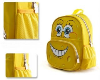 New Toddlers Kids Boys Girls Spongebob Schoolbag Backpack Travelling Bag