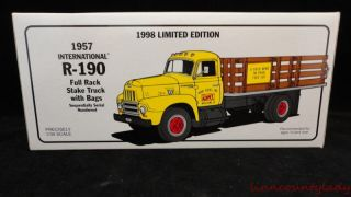 1957 International R 190 Stake Truck 1998 Edition Kent Feed Numbered