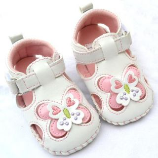 Pink Bows Toddler Baby Girl Mary Jane Shoes Size 2 3