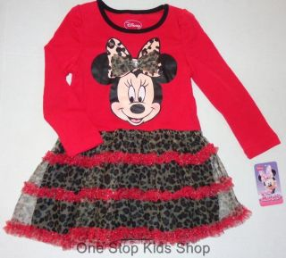 Minnie Mouse Girls 2T 3T 4T 5T Set Dress or Outfit Shirt Pants Skirt Disney