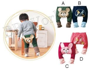 Cute Boy Girl Baby Infant Toddler Pants Trousers Bottom Bear Rabbit Leggings