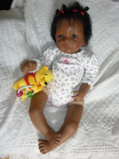 Ashton Drake Baby Doll Jasmine Goes to Grandmas So Truly Real Reborn or Play