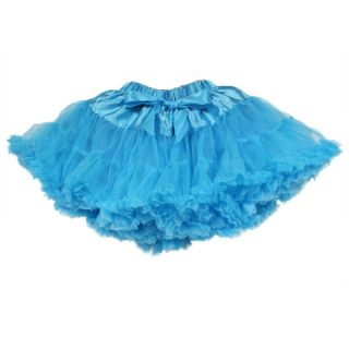 Baby Kids Girls Dancewear Skirt Cute Chiffon Tutu Full Pettiskirt Princess Skirt