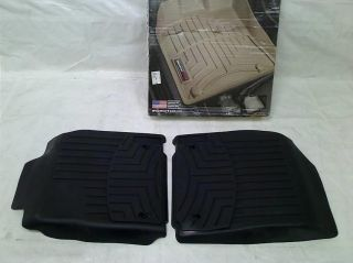 WeatherTech Custom Fit Front Floorliner for Lexus ES350 Black